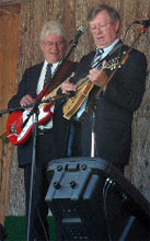 Bytown Bluegrass Neville And Ray Playing